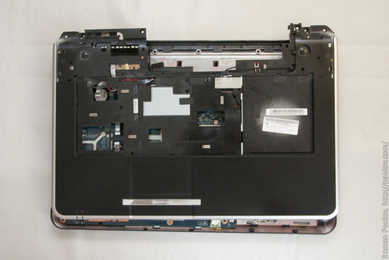 How to disassembly Packard Bell LJ 75 and clean cooling system